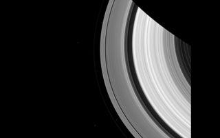 Cassini Captures Saturn's Moons