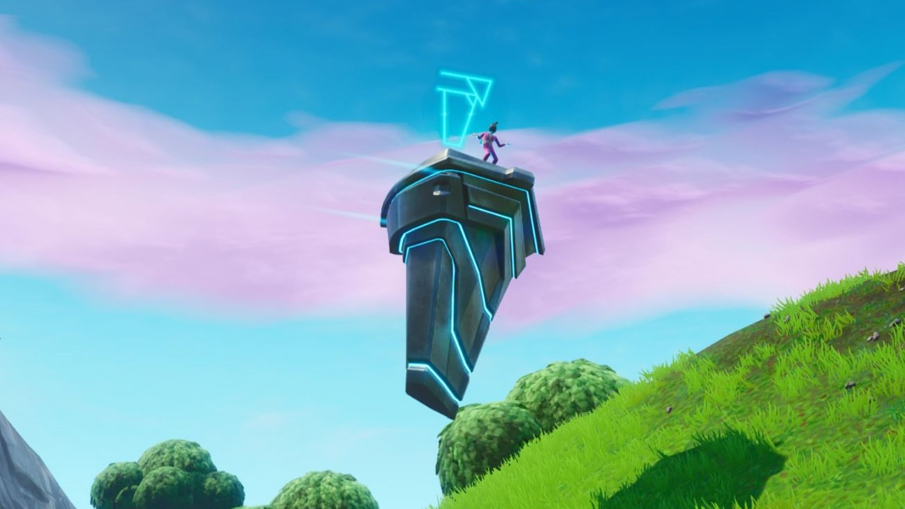 a strange floating rune connected to fortnite s loot lake vault has appeared updated - loot lake fortnite season 8