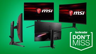 MSI Gaming Monitors Black Friday sales