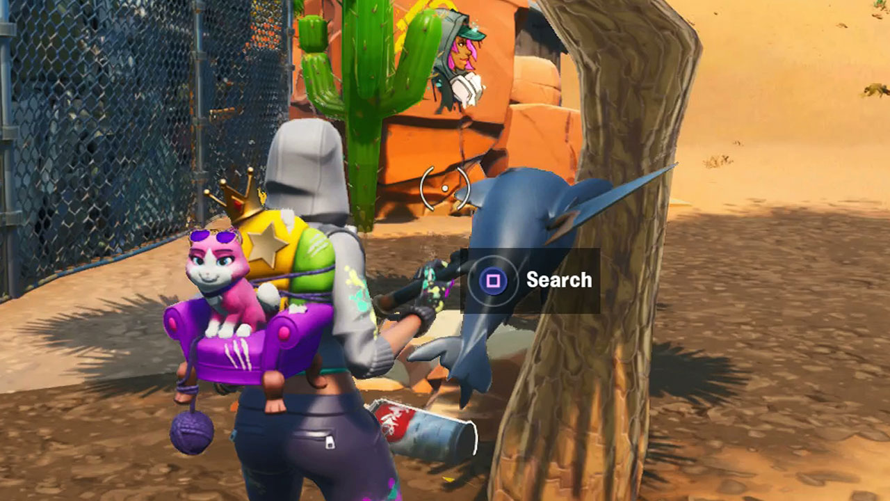 Fortnite lost spraycans: Where to find lost spraycans for the Spray