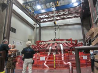 Third Mirror Cast for Giant Magellan Telescope