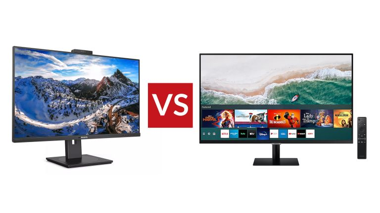 Philips 329P1H vs Samsung M70A Smart Monitor