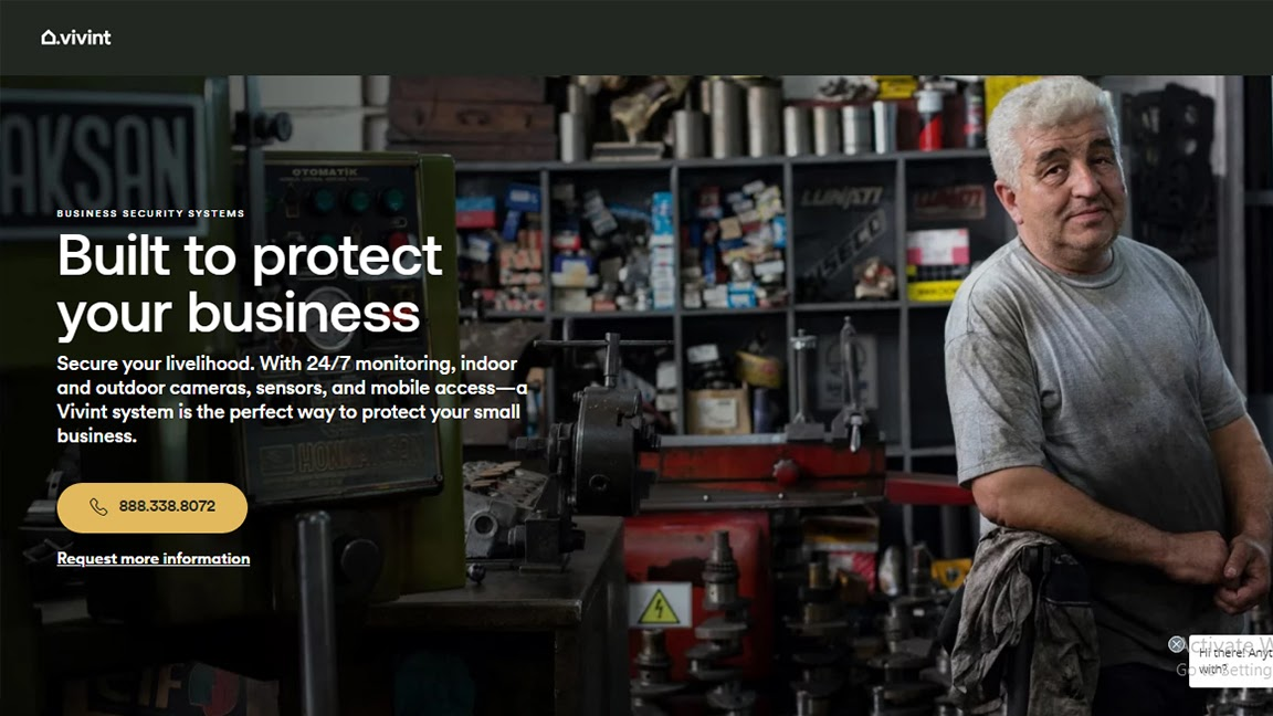 security systems for a business