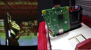 Bakutendo DOOM NES PCB