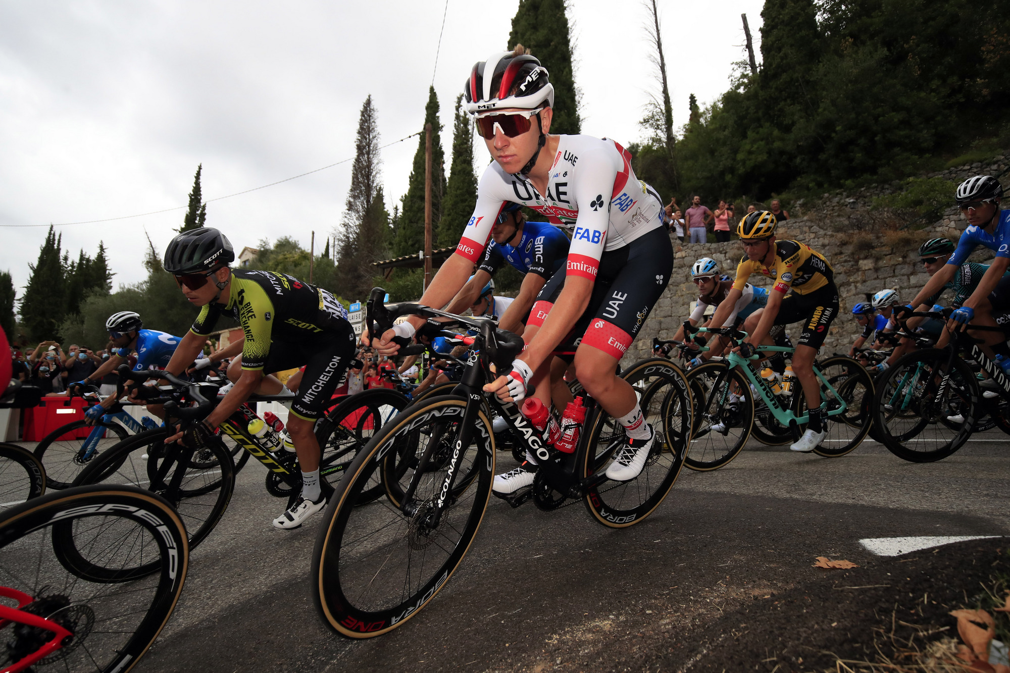 Tour de France 2020 107th Edition 1st stage Nice Nice 156 km 29082020 Tadej Pogacar SLO UAE Team Emirates photo Luca BettiniBettiniPhoto2020