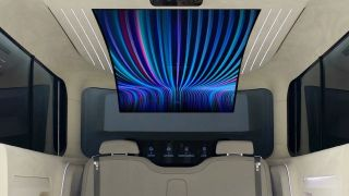 Hyundai and LG reveal new in-car concept with flexible, 77-inch OLED display
