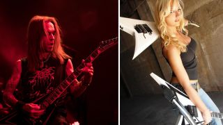 Alexi Laiho and Nita Strauss