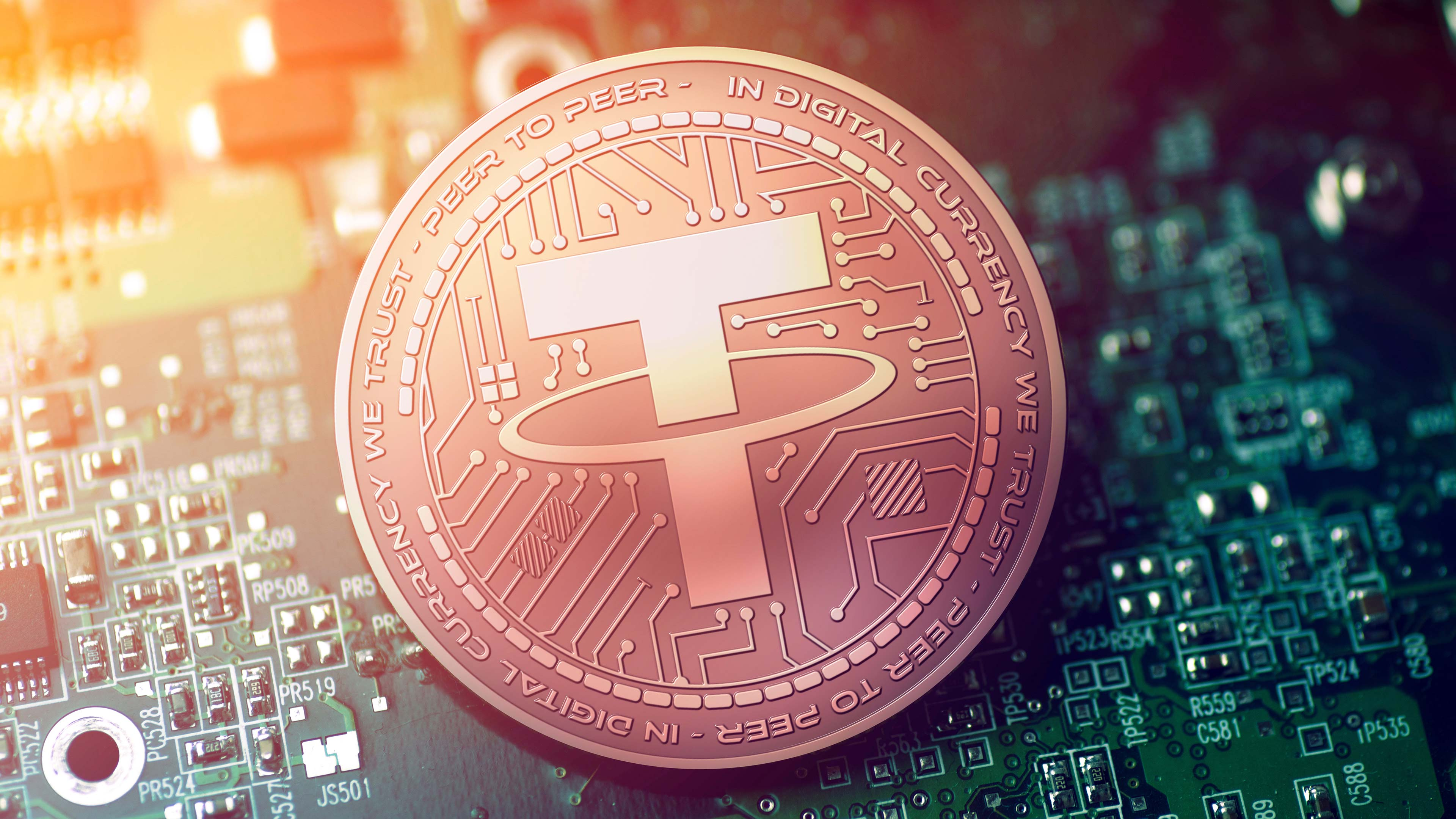 Best cryptocurrency listed — Tether