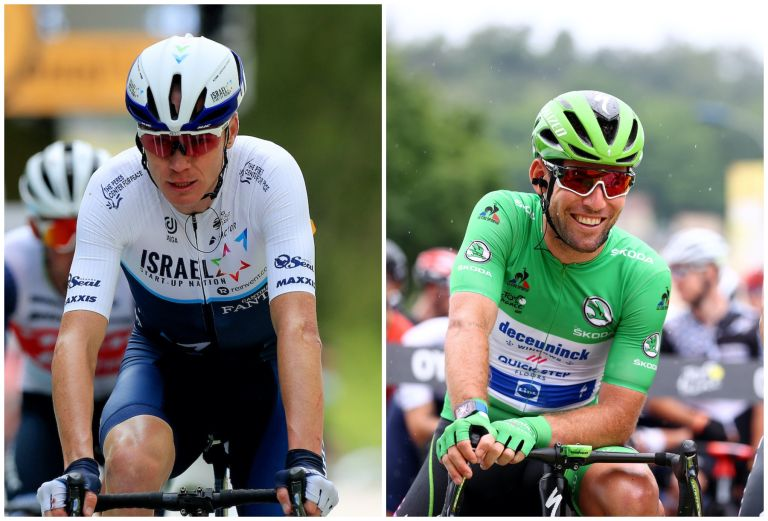 Mark Cavendish and Chris Froome are separated by 20 seconds at the Tour de France