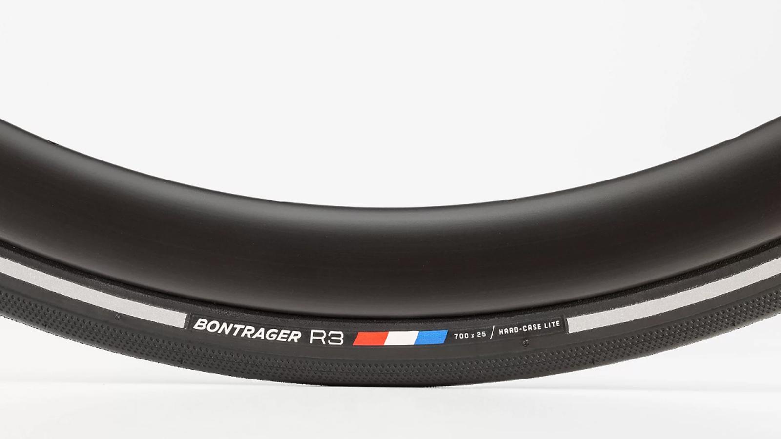 Best Road bike tyres: Bontrager R3 Hard-Case Lite Road Tyre