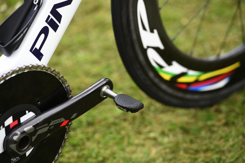 570983b2536 Bradley Wiggins spotted using new Speedplay aero pedals - Cycling Weekly