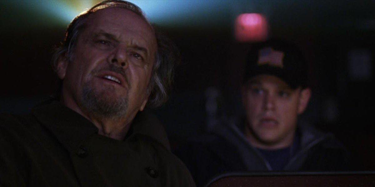 Jack Nicholson on the left, and Matt Damon on the right