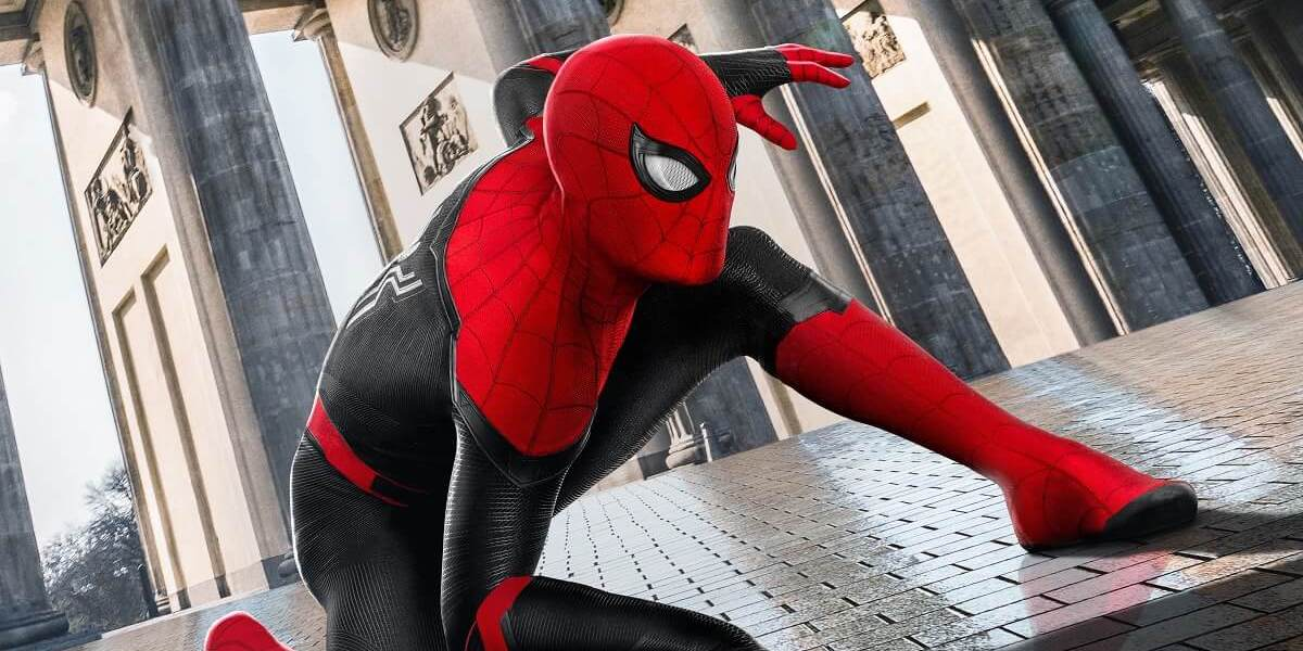 Spider-Man's Far From Home costume