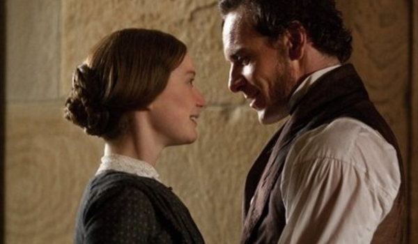 Jane Eyre Jane and Rochester Embrace