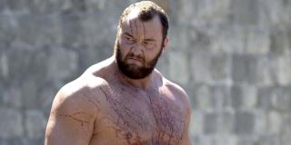 "the mountain game of thrones hbo Hafthor ""Thor"" Bjornsson"