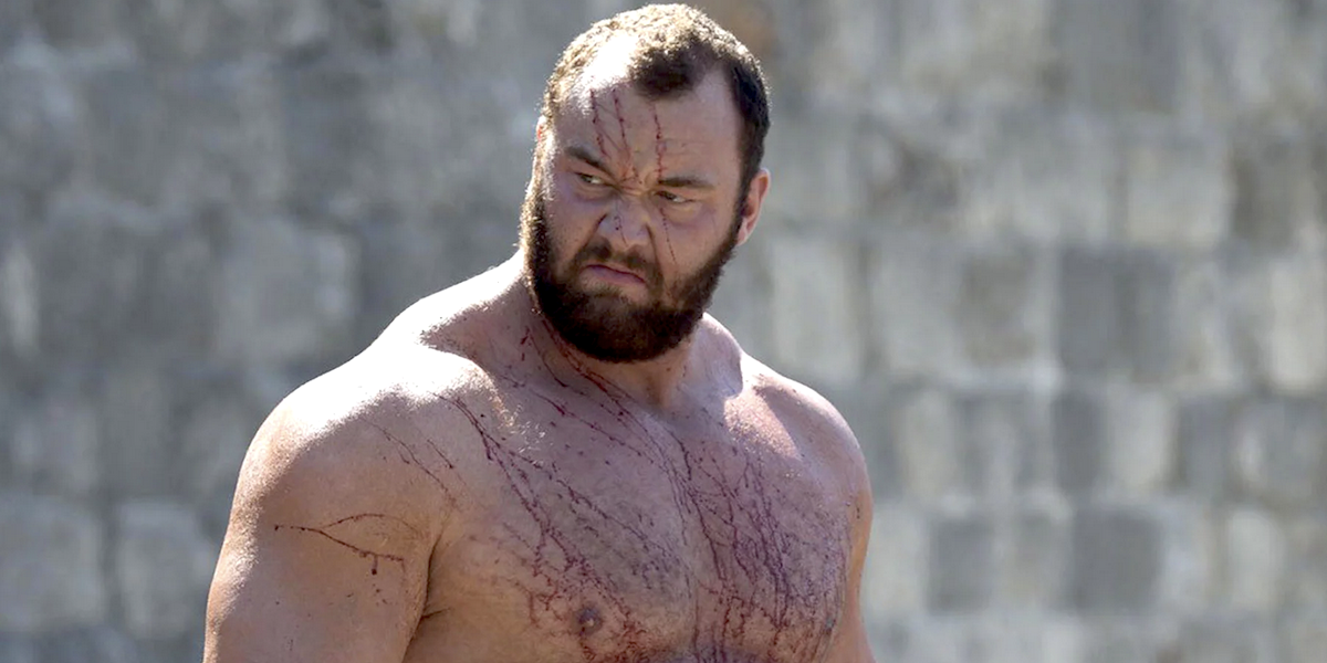 How Game Of Thrones' The Mountain Shed 120 Pounds (And Kept It Off)
