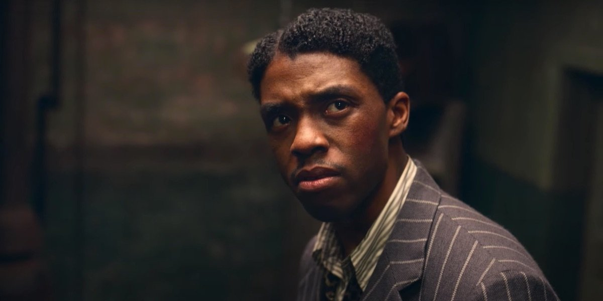Chadwick Boseman in Netflix's Ma Rainey's Black Bottom