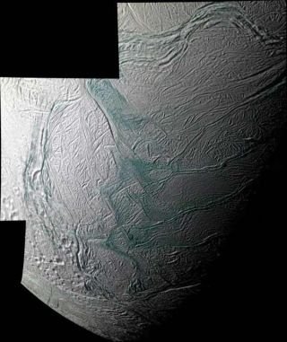 Cassini Spots Icy Jet Sources on Saturn Moon