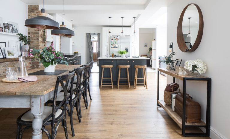 For Kitty McCurdy and husband Kieran, turned a dated Victorian property into their dream family home