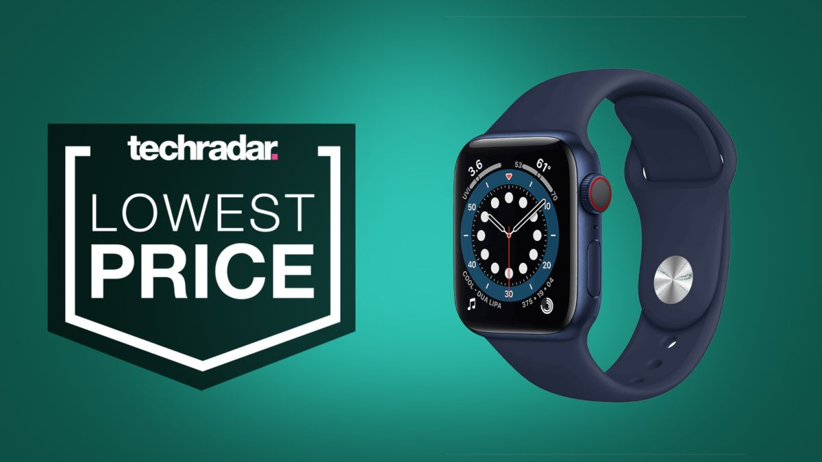 The Apple Watch 6 cellular has just hit its lowest price yet in Amazon's latest deals - TechRadar