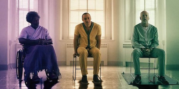 Glass characters 2019 movie