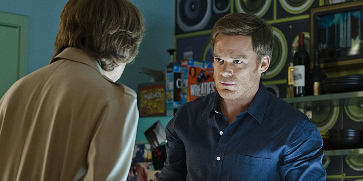 Charlotte Rampling and Michael C. Hall on Dexter