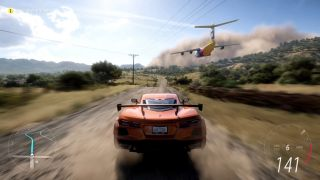Screengrab of 2021 Corvette Stingray from Forza Horizon 5 Official Initial Drive trailer