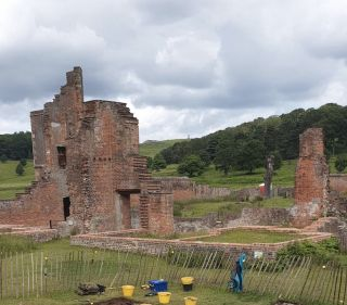Bradgate House foundations