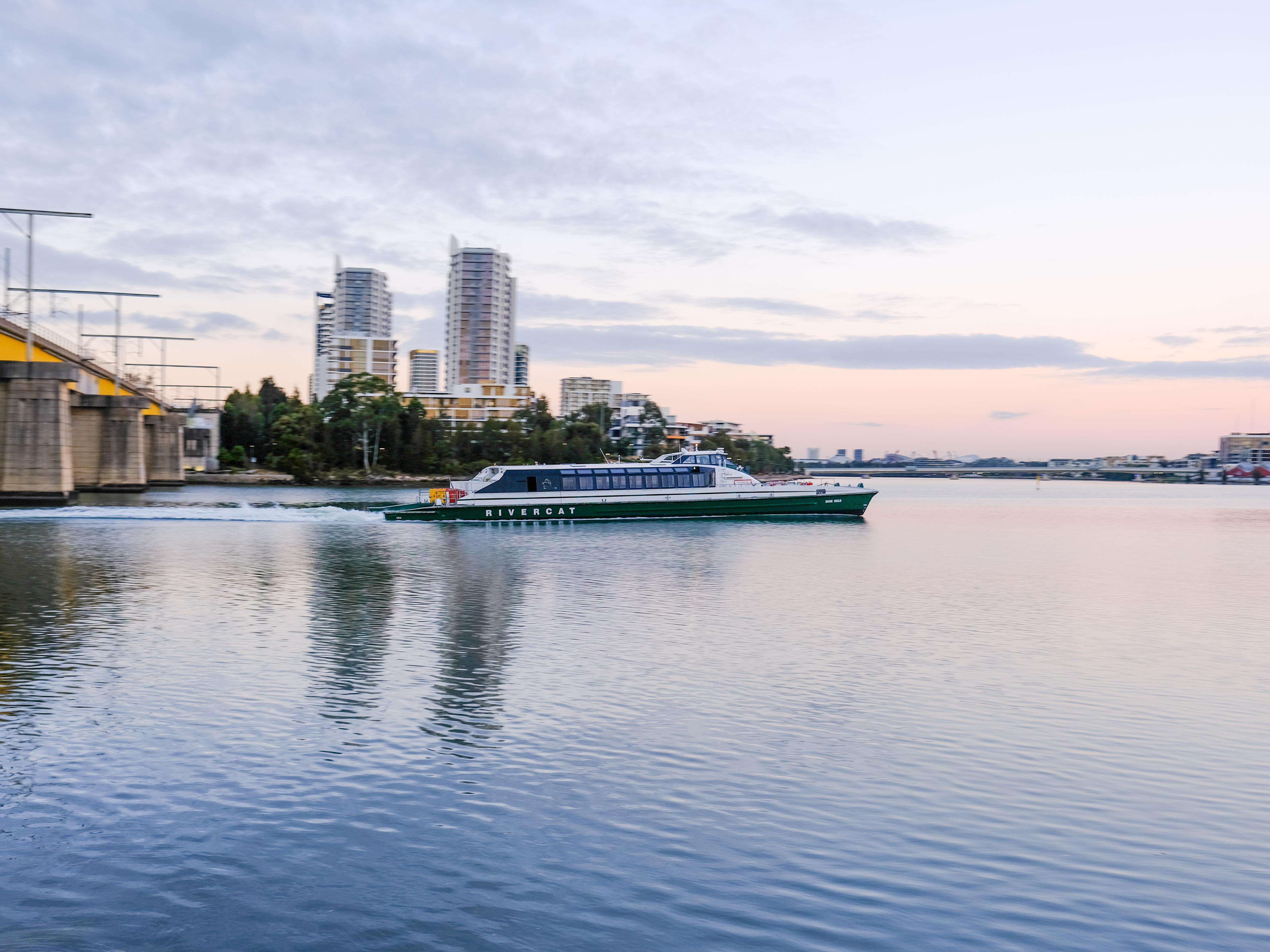 Fujifilm GFX50S II sample shot – Sydney river ferry