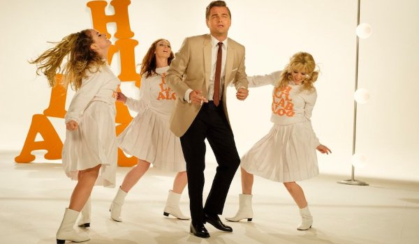 Once Upon A Time In Hollywood Rick sings and dances on Hullabaloo