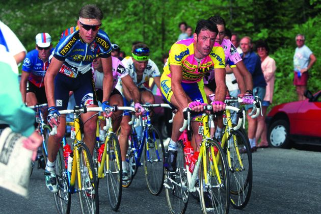 Dr Hutch  Celebrating the terrible cycling kit of the 1990s ... ad8737a8c