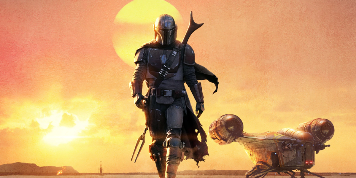 the mandalorian season 1 poster mando disney+