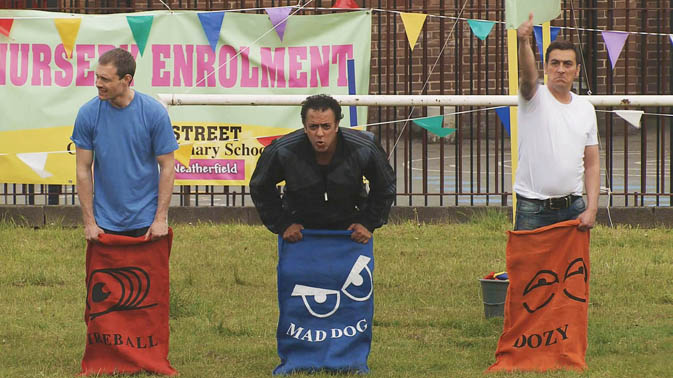 Amy's sports day gets competitive!