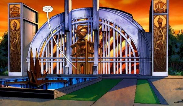 Hall of Justice DC Comics Justice League