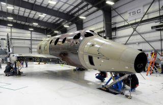 Virgin Galactic's Second SpaceShipTwo Spaceliner