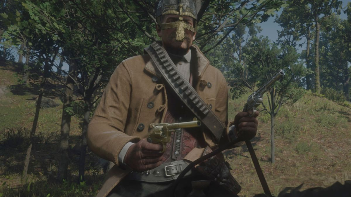 How to get the Viking Helmet in Red Dead Redemption 2, so you can cosplay as a Norse raider