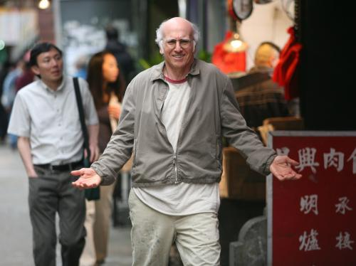 Whatever Works - Larry David plays misanthropic New Yorker Boris Yellnikoff in Woody Allen's comic fable