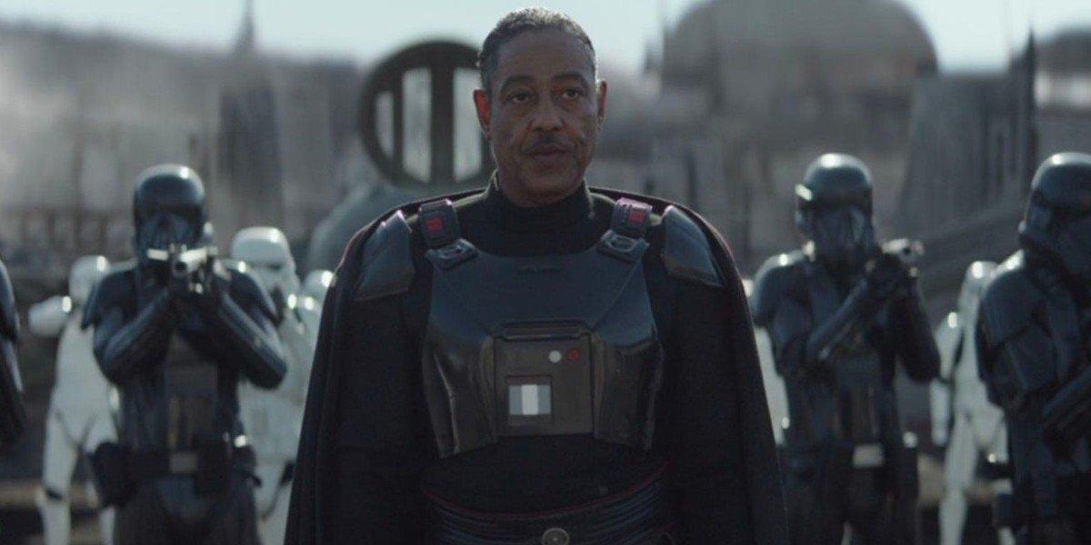 Giancarlo Esposito as Moff Gideon on The Mandalorian (2020)