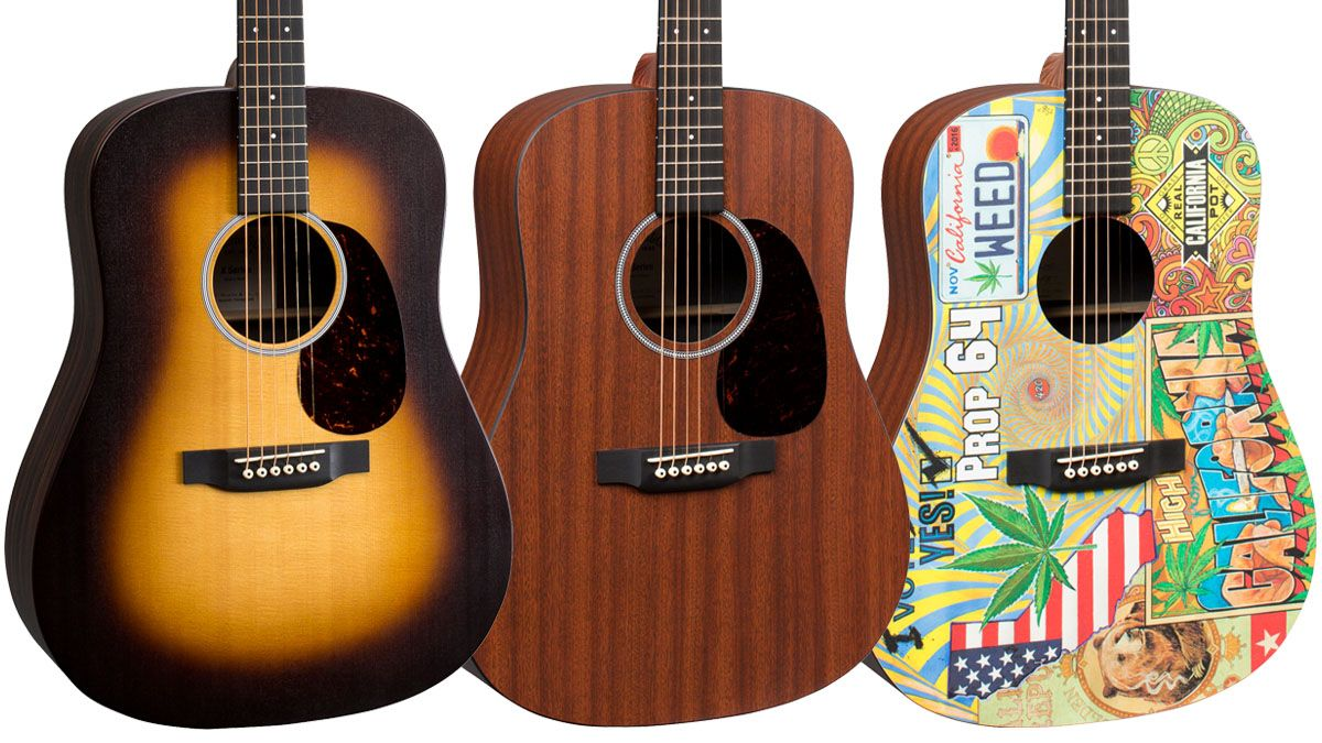 namm 2018 martin unveils trio of affordable x series acoustic guitars musicradar. Black Bedroom Furniture Sets. Home Design Ideas