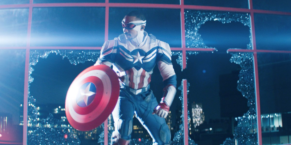 Anthony Mackie as Captain America