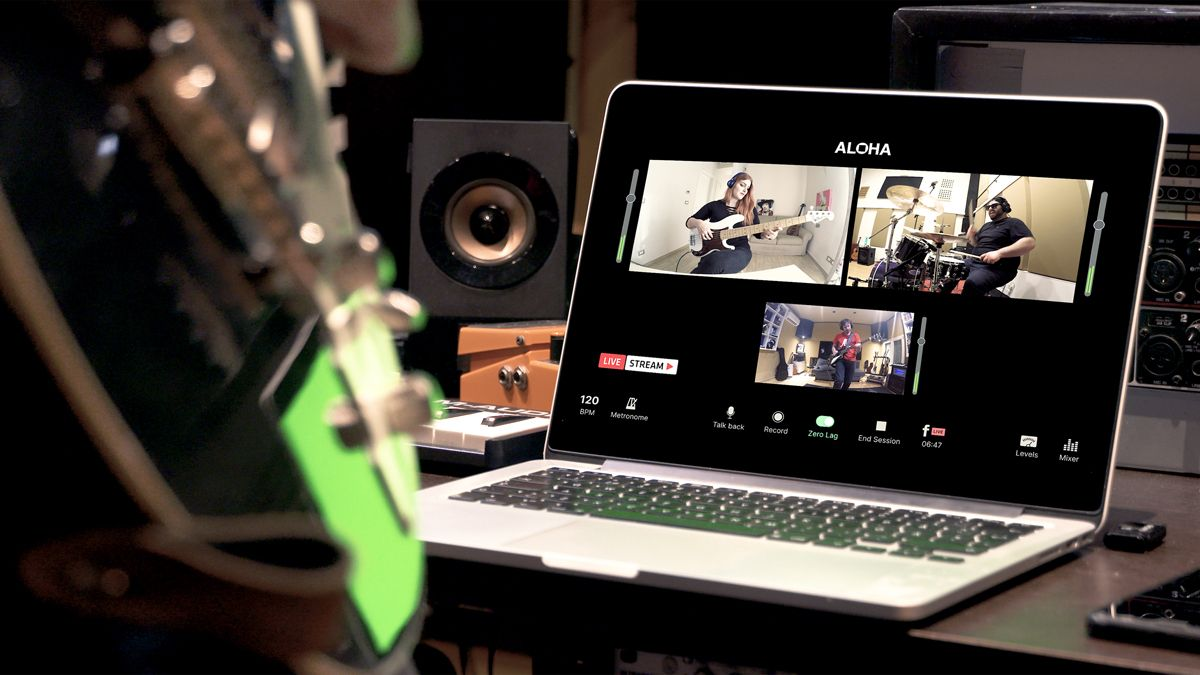 Could Aloha be the low-latency app that finally makes virtual band rehearsals a reality?