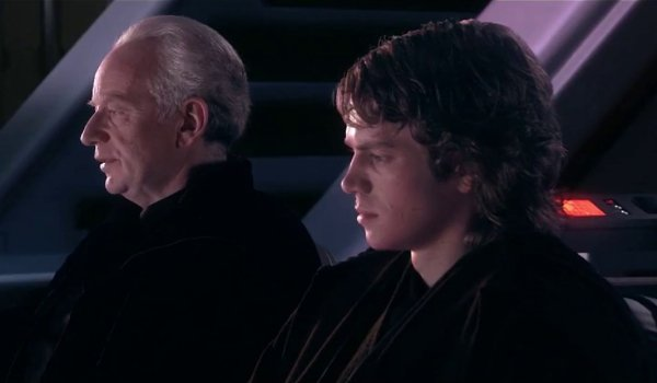Star Wars: Revenge Of The Sith Palpatine and Anakin at the opera