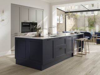 an unpainted kitchen range like Howdens chilcomb is one idea for finding a cheap kitchen