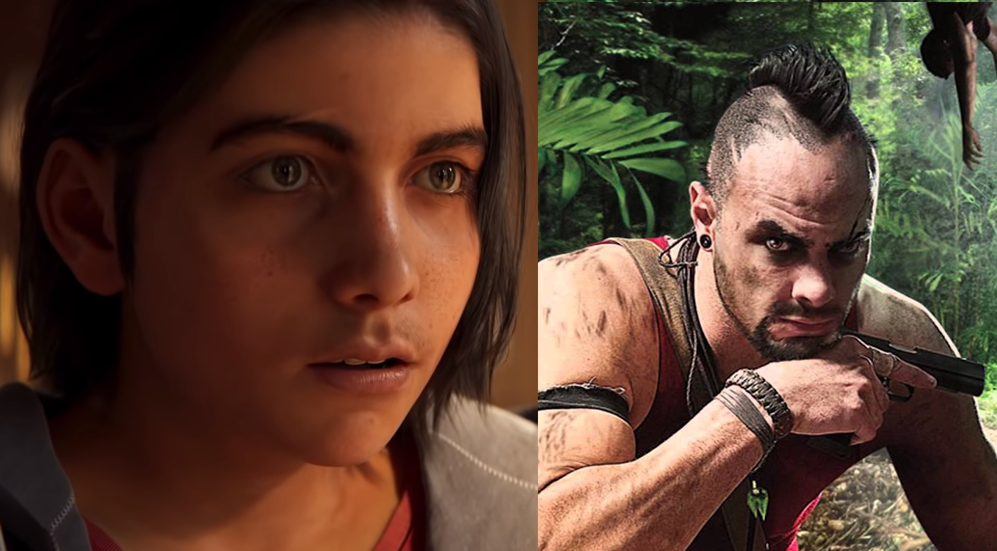 Far Cry 3's Vaas Montenegro and Far Cry 6's Diego Castillo