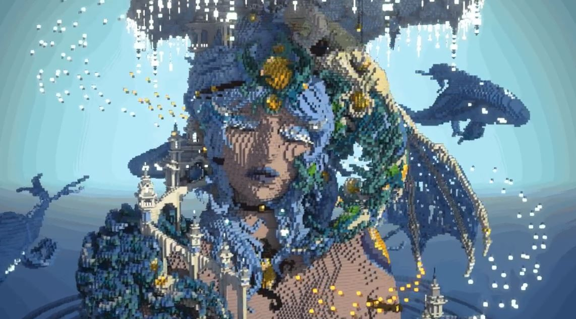Meet The Minecraft Artist Whose Beautiful Sculptures Skyrocket To The Top Of Reddit Pc Gamer