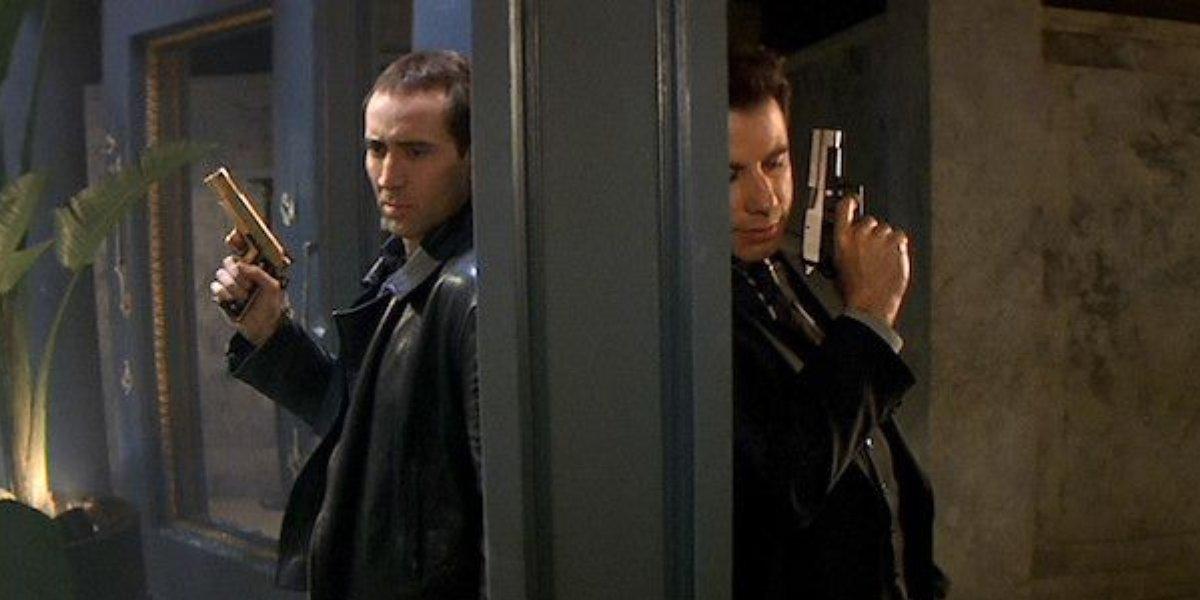 Nicolas Cage and John Travolta in Face/Off