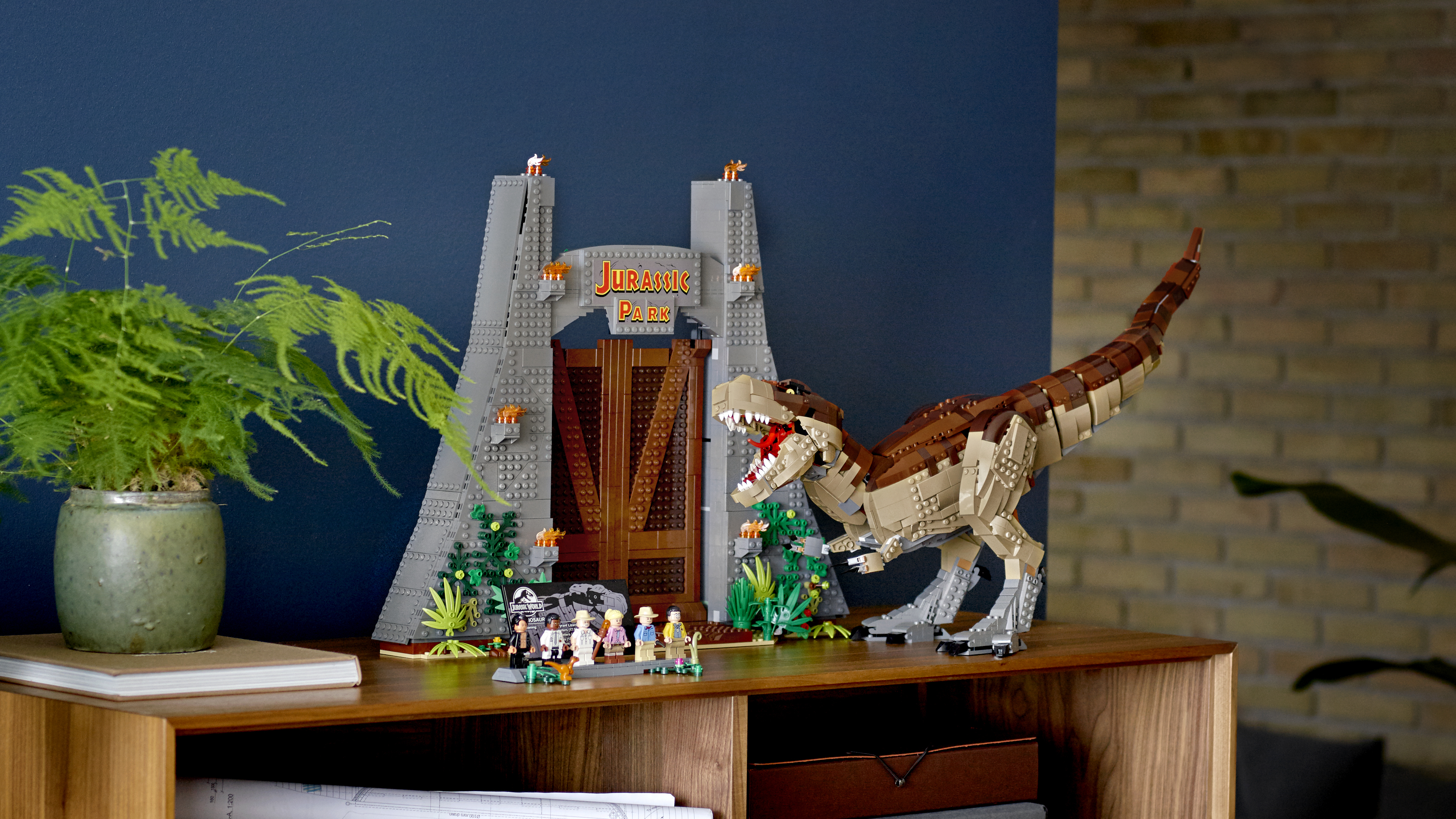 The ultimate 3,000-piece Lego Jurassic Park T-Rex set is now available to  buy
