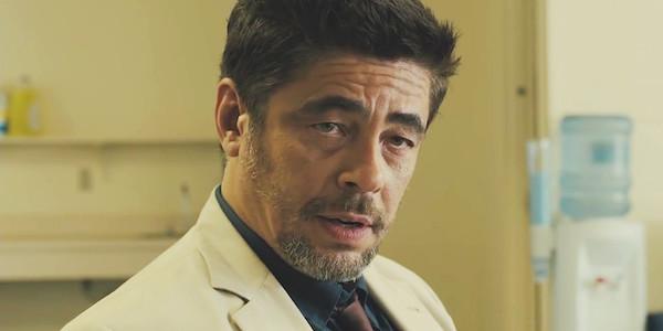 Benicio del Toro Sicario White Suit
