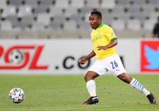 Mamelodi Sundowns winger Keletso Makgalwa