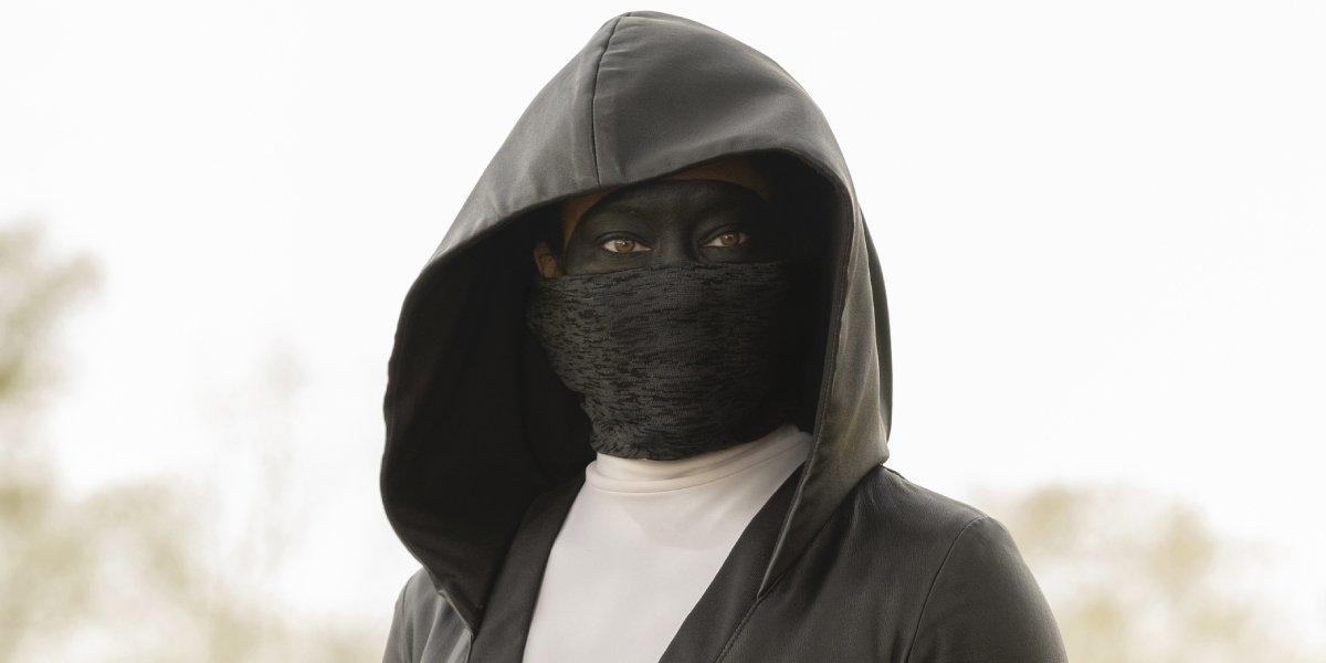 Regina King as Sister Night on Watchmen
